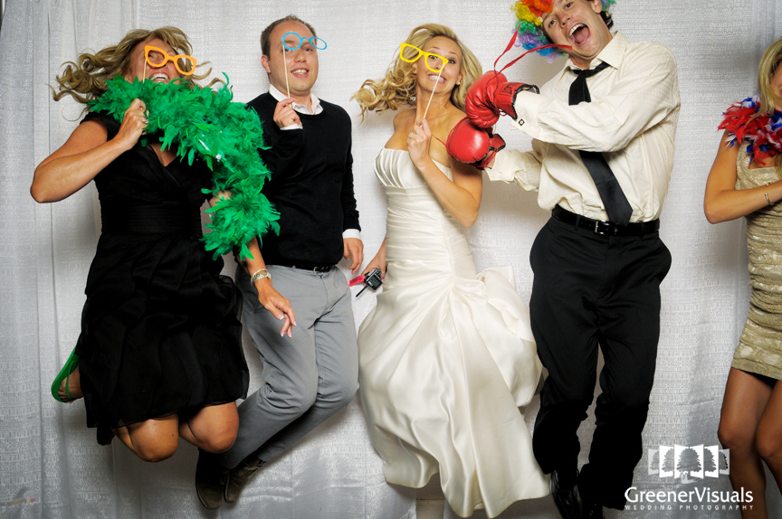Colorado Wedding Day Photo Booth In Parker Of Erin Ryan