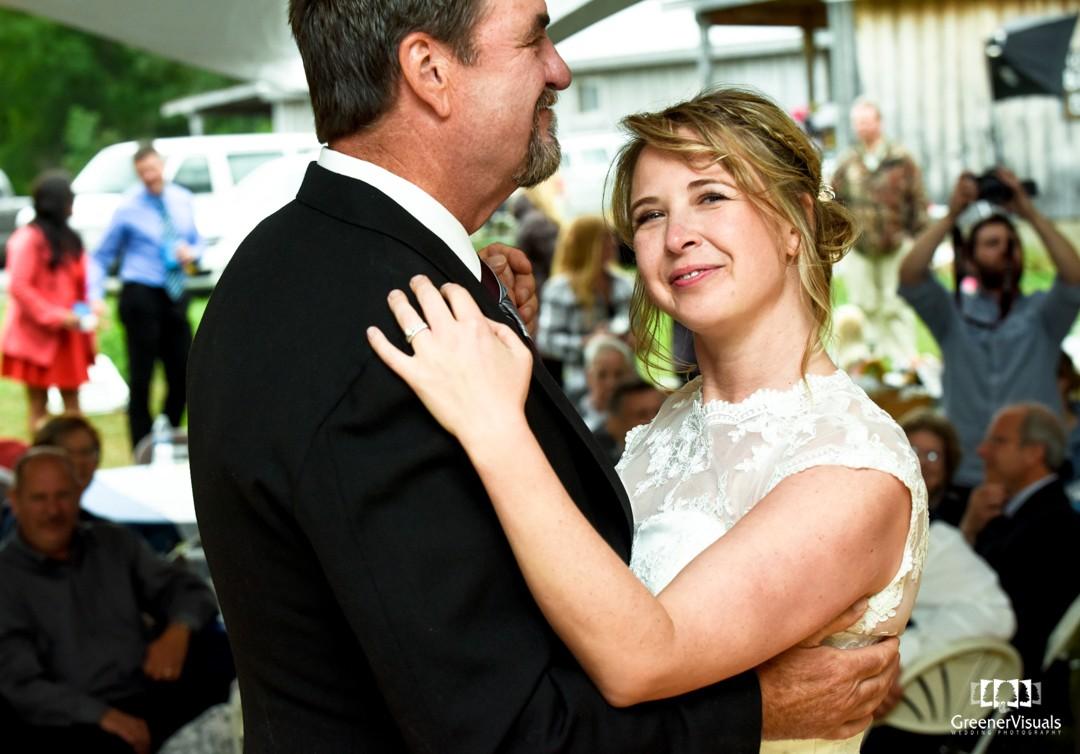 Eric & Brandy Wedding Day Photos in Hope, Alaska - Greener Visuals Wedding Photography