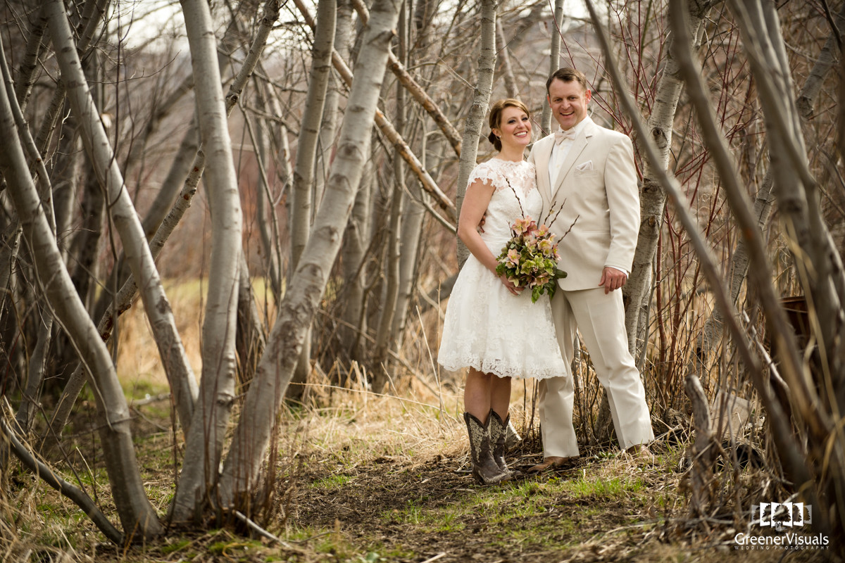 Rocky Creek Farm Styled Wedding Photo Session of Tara and Sky
