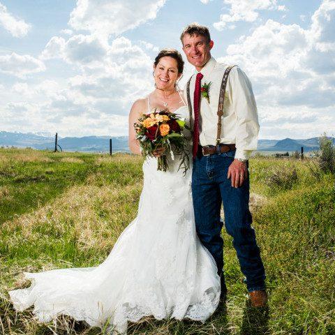 El Western Resort Wedding Photos Becky and Kyle