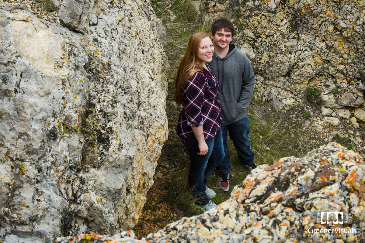 Missouri Breaks State Park Engagement Photo Session
