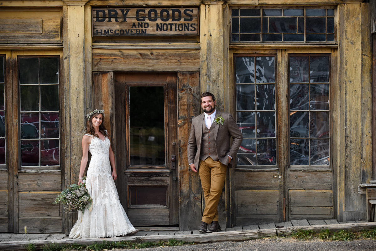 Virginia City Montana Wedding Day Of Marissa And Tyler Photo Preview
