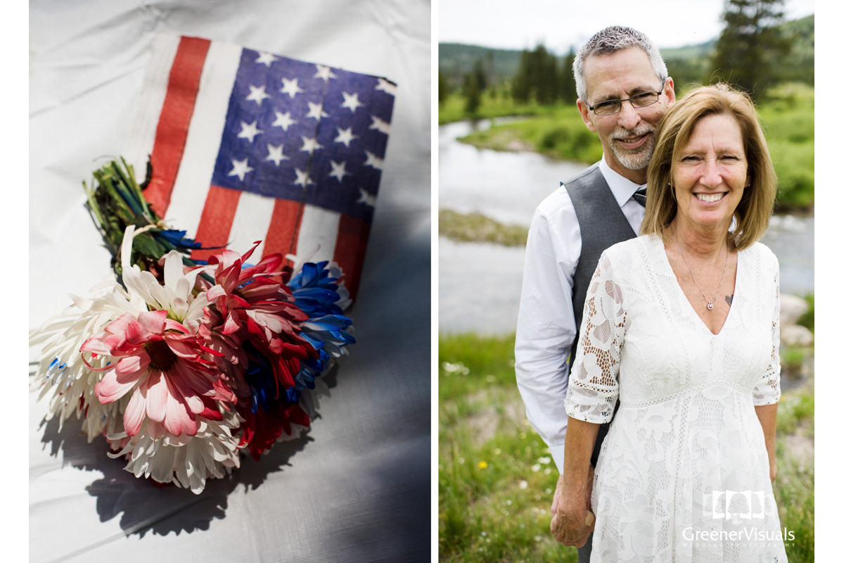 Yellowstone National Park Wedding Day portrait