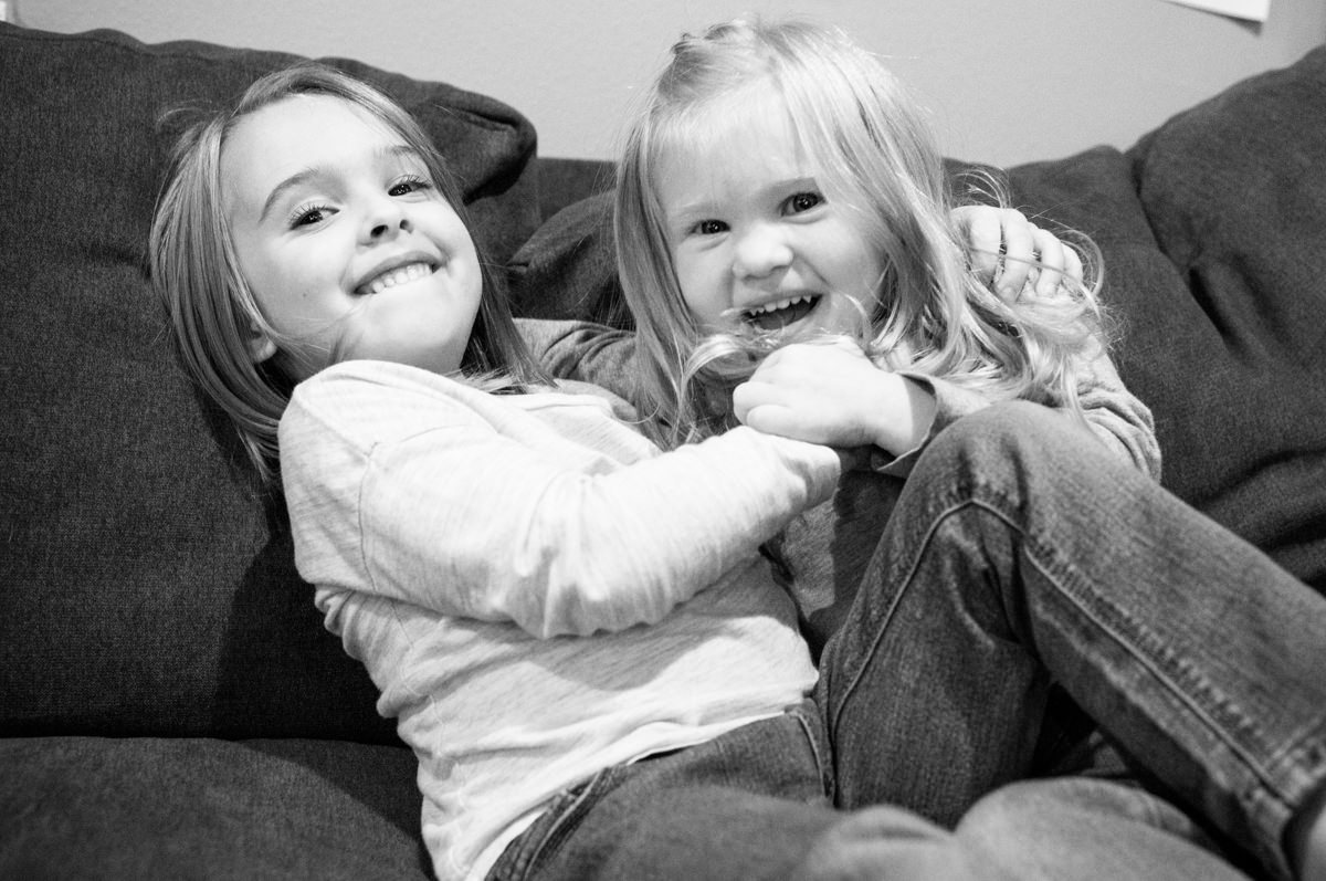 Bellingham Washington Daughter Sisters Portrait