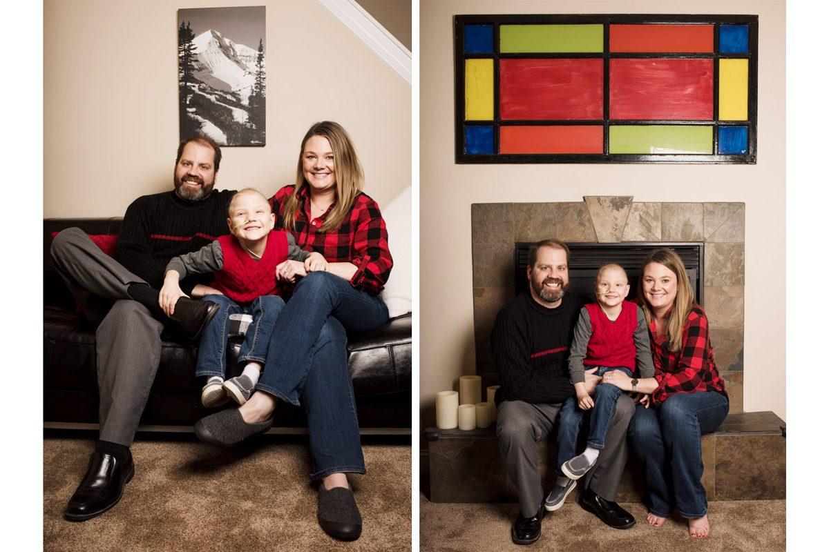 Dax Family Portrait Indoors