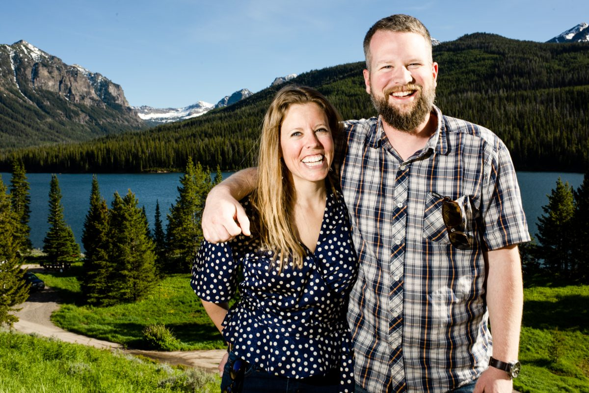 Bozeman Engagement Photographer Hyalite Canyon couple