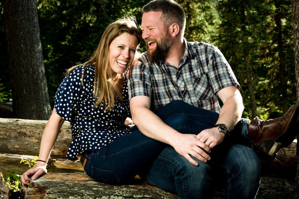Bozeman Engagement Photographer Hyalite Canyon couple
