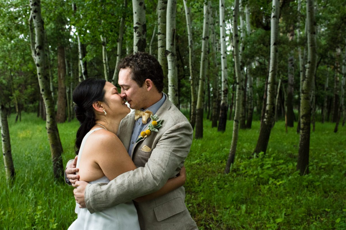 Livingston Wedding Photographer Yellowstone River wedding portrait