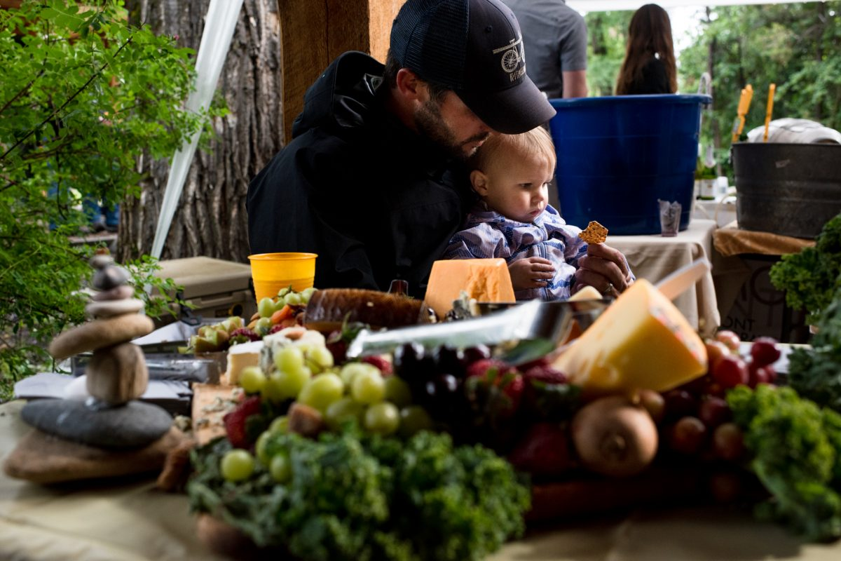 Livingston Wedding Photographer Yellowstone River wedding caterer baby