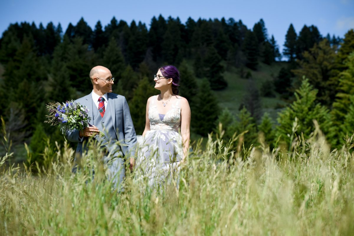 Bozeman Wedding Photographer Kelly Canyon Quaker Wedding portraits