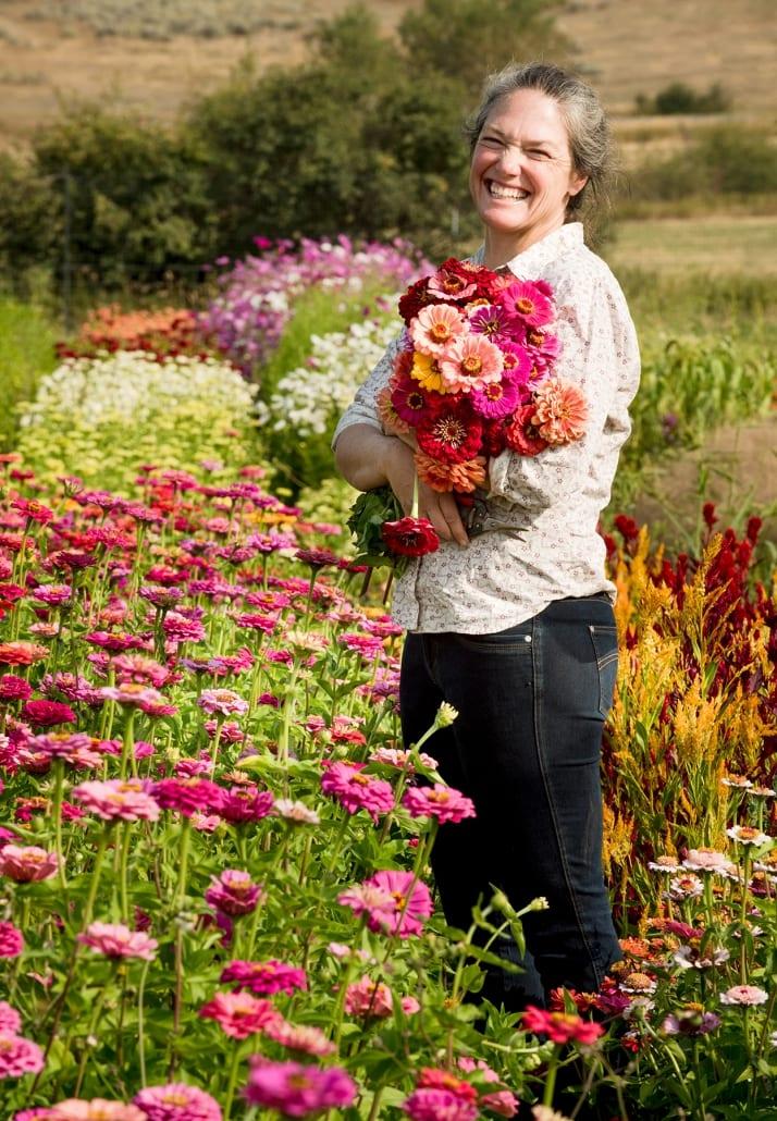 Bozeman Family Photography Gallatin Valley Botanical Farm Wedding Flowers