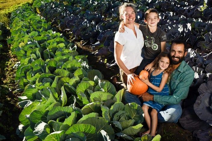Bozeman Family Photography Gallatin Valley Botanical Farm Portrait