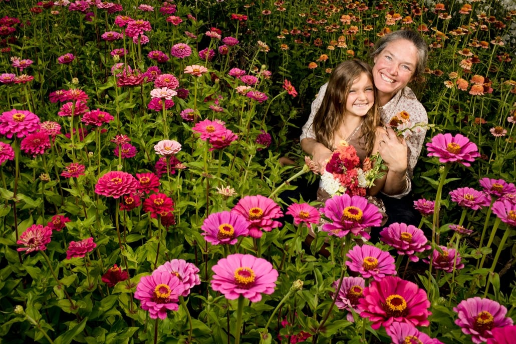 Flowers Bozeman Portrait Photography Gallatin Valley Botanical Farm