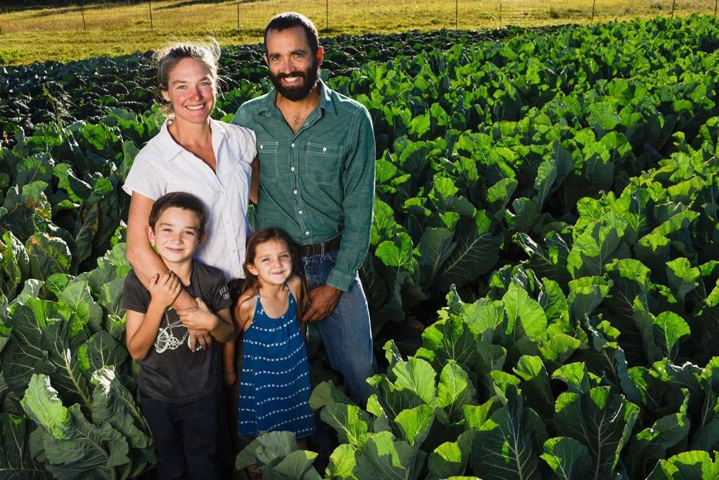 Bozeman Family Photography Gallatin Valley Botanical Farm