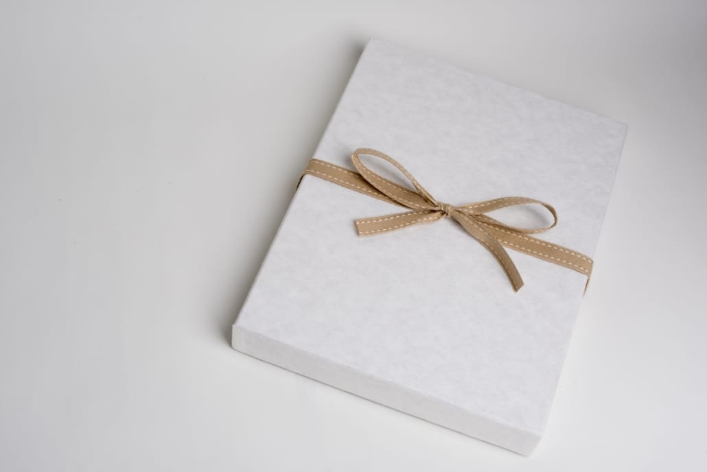 Bozeman Wedding Photography Album Box