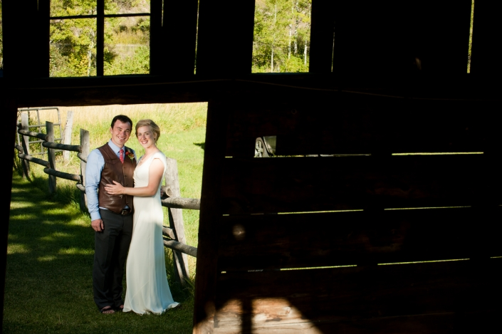 Montana Wedding Photographer Abbott Valley Homestead wedding portraits