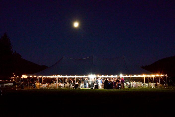 Montana Wedding Photographer Abbott Valley Homestead reception