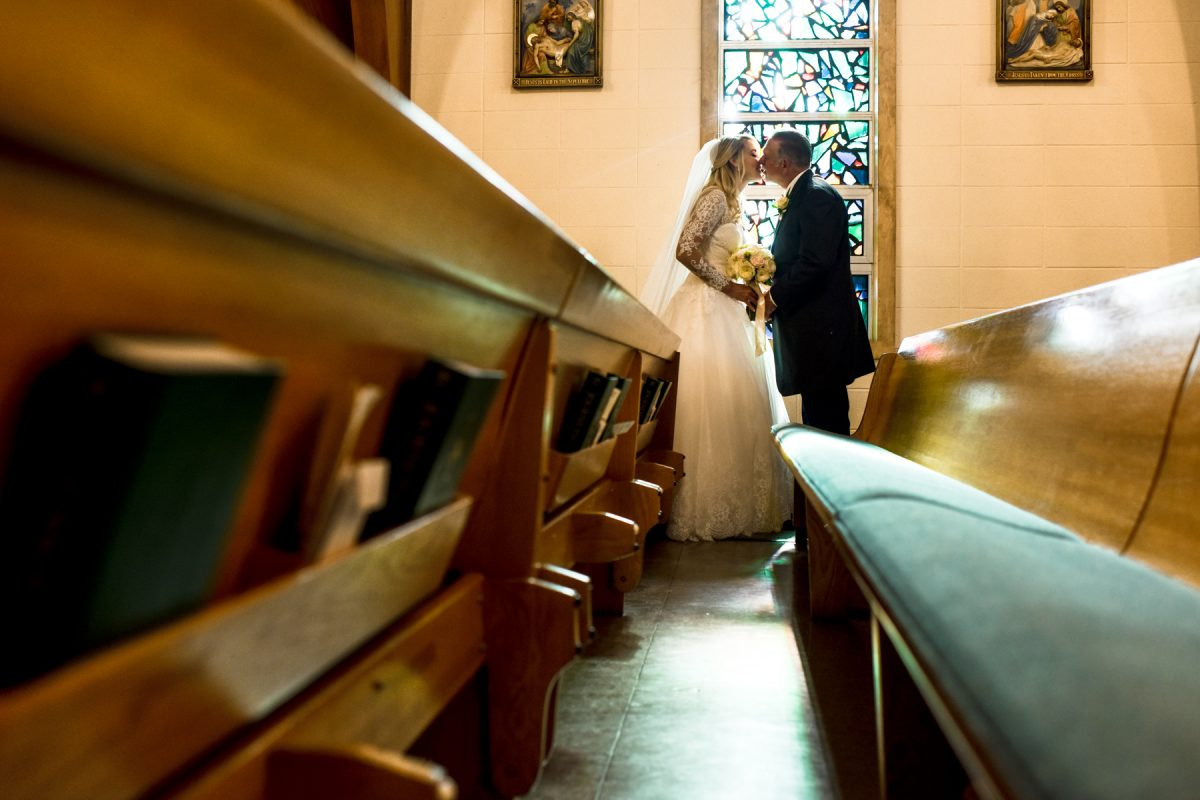 Livingston Wedding Photographer St. Mary's Catholic Church