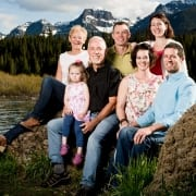 Montana Family Photography Hyalite Canyon family portrait
