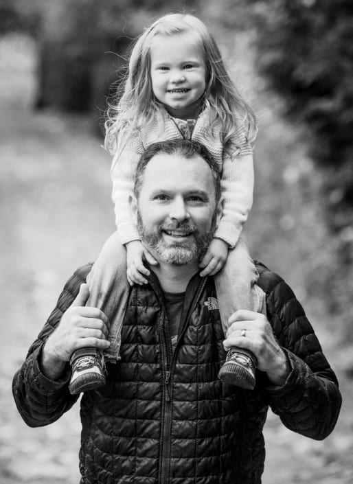 Bozeman Family Photography destination Bellingham Washington father and daughter