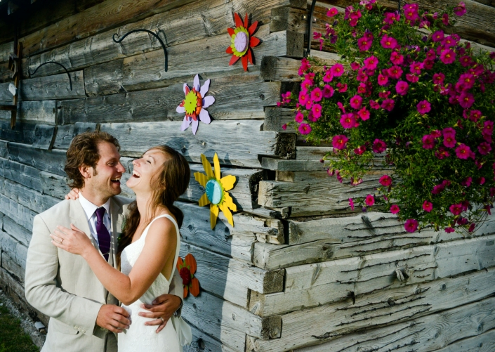 Montana Wedding Photographer Springhill Pavilion bride and groom