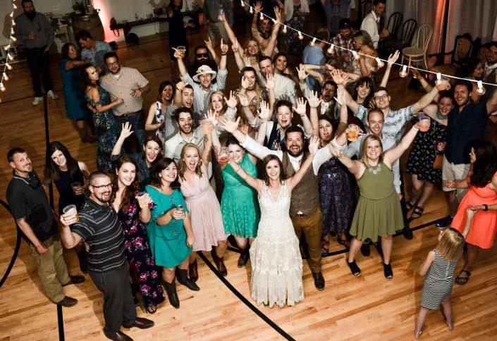 Montana Wedding Photographer Virginia City wedding reception