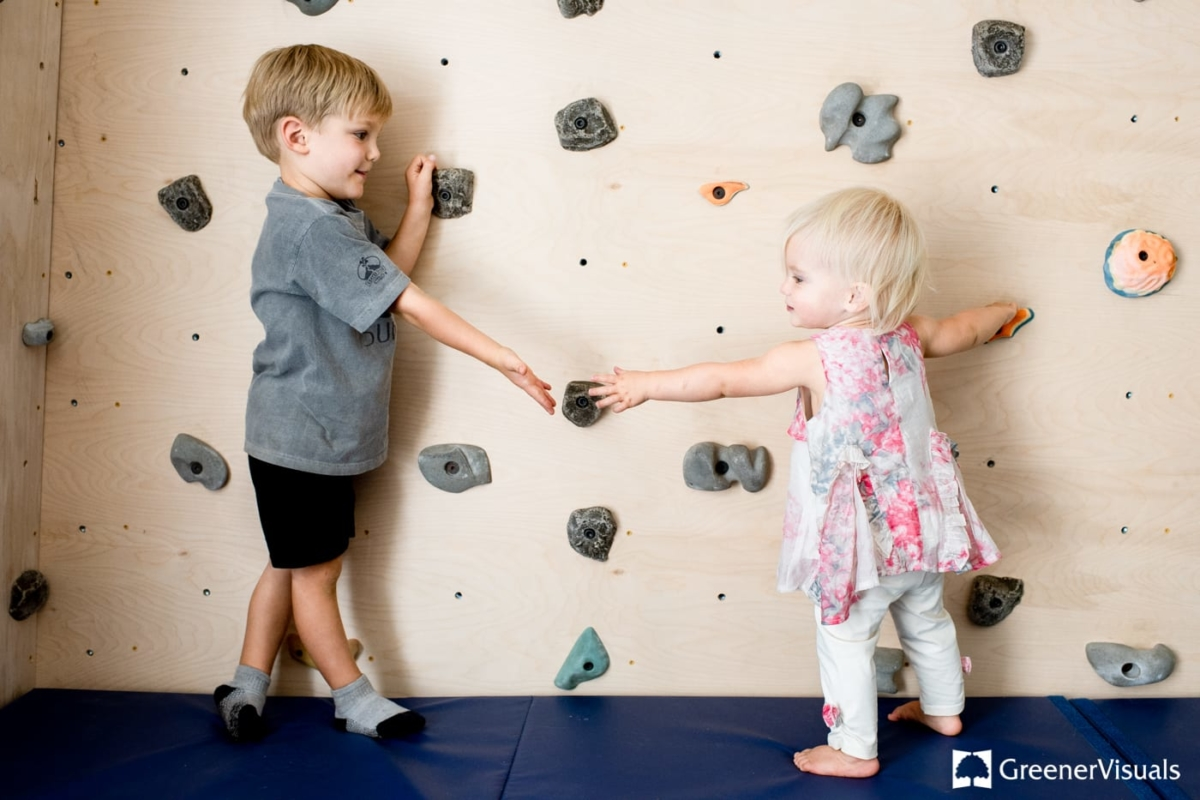 home-climbing-wall-siblings-Family-Portrait-Photography