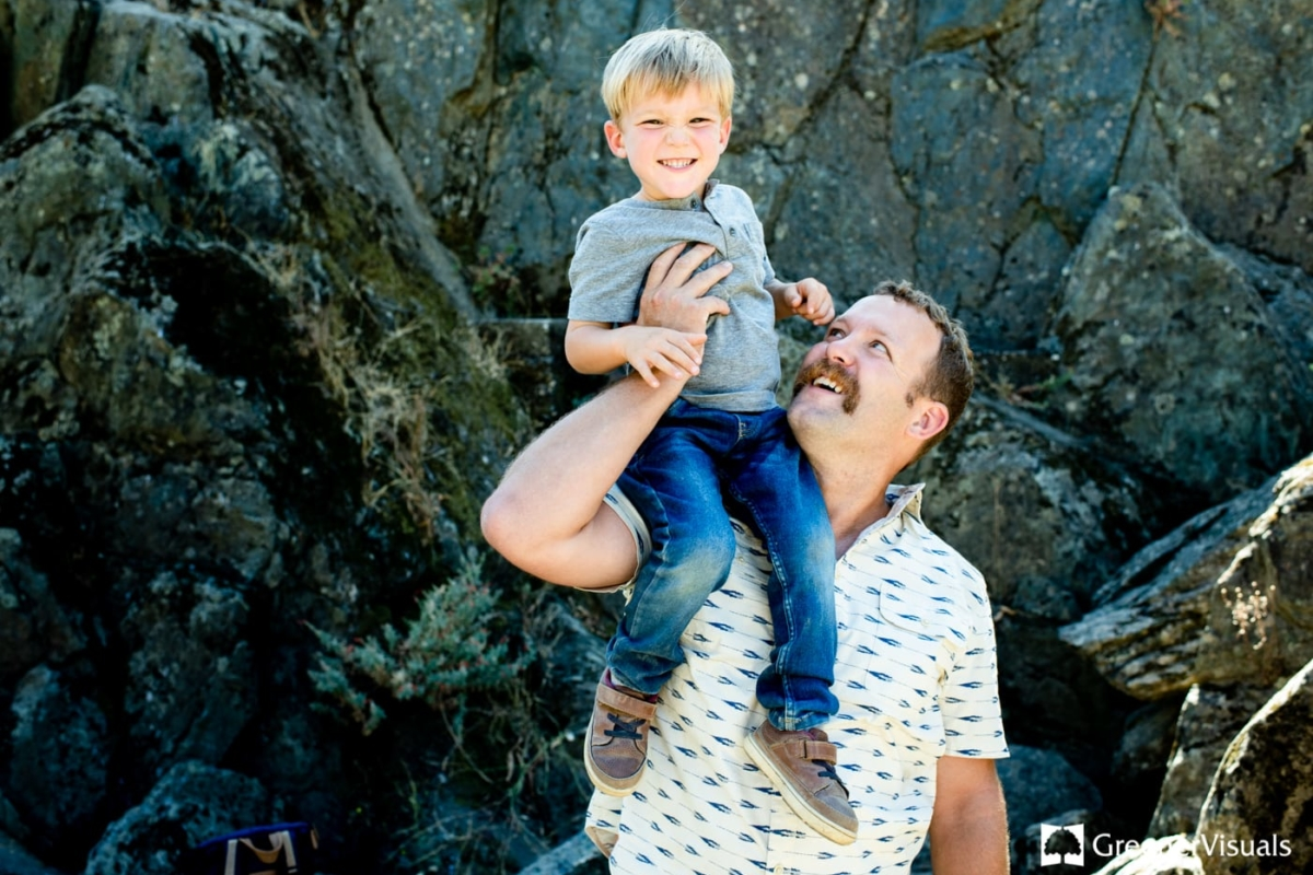 Father-Son-American-River-California-Family-Portrait-Photography