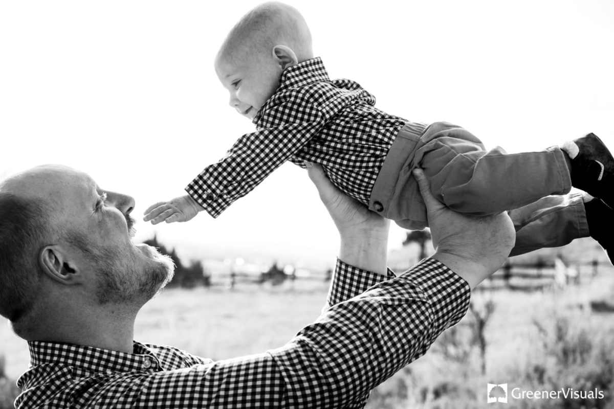 Bozeman-Family-Portrait-Photography-Father-Baby