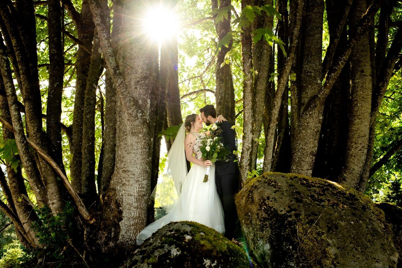 Just-Married-Couple-Trinity-Tree-Farm-Wedding-Photos-Greener-Visuals