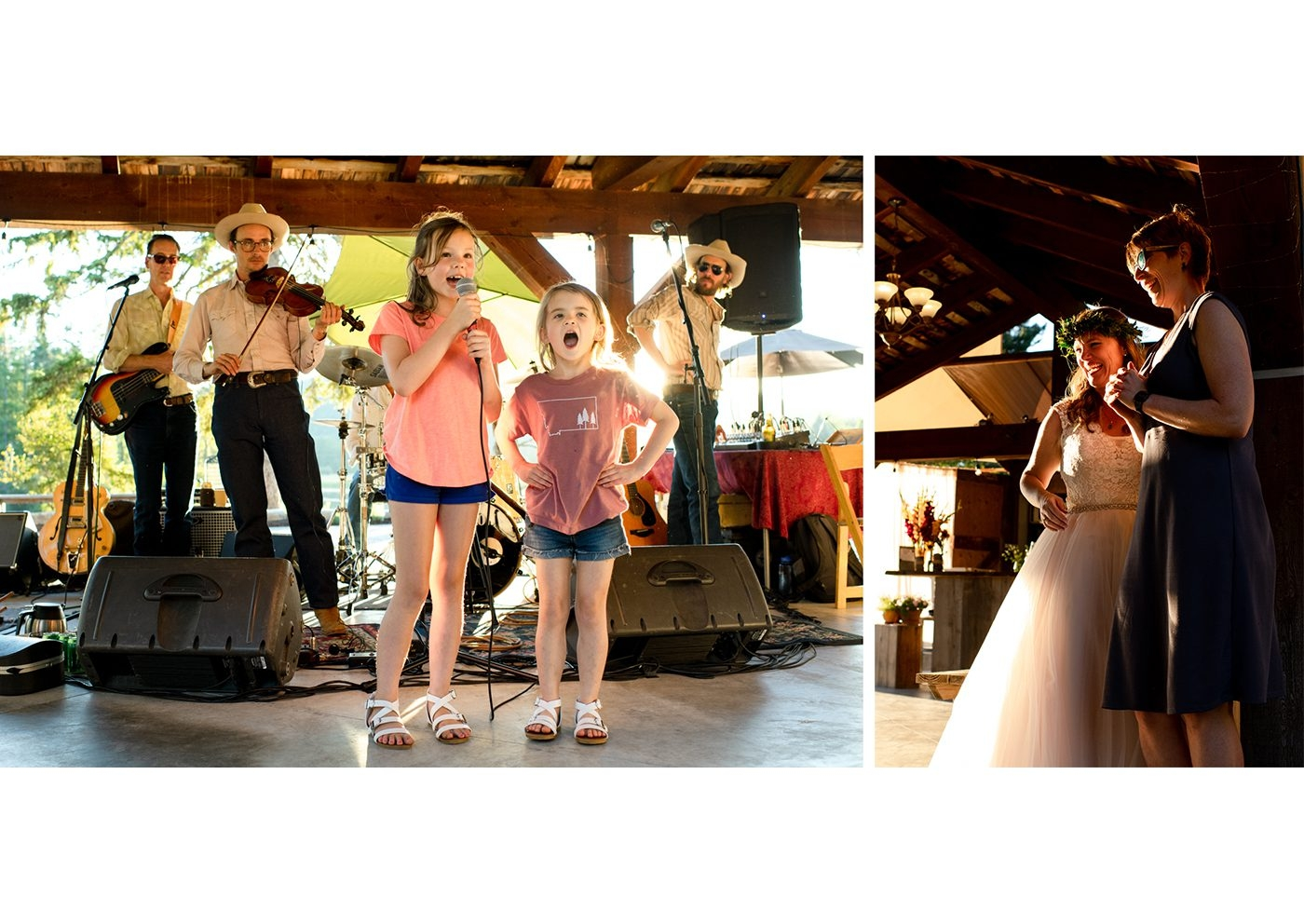 The-Nest-on-Swan-River-Wedding-Day-kids-singing